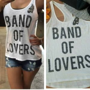 Express Tank Top Band of Lovers
